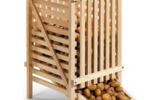 При какой температуре хранить картофель